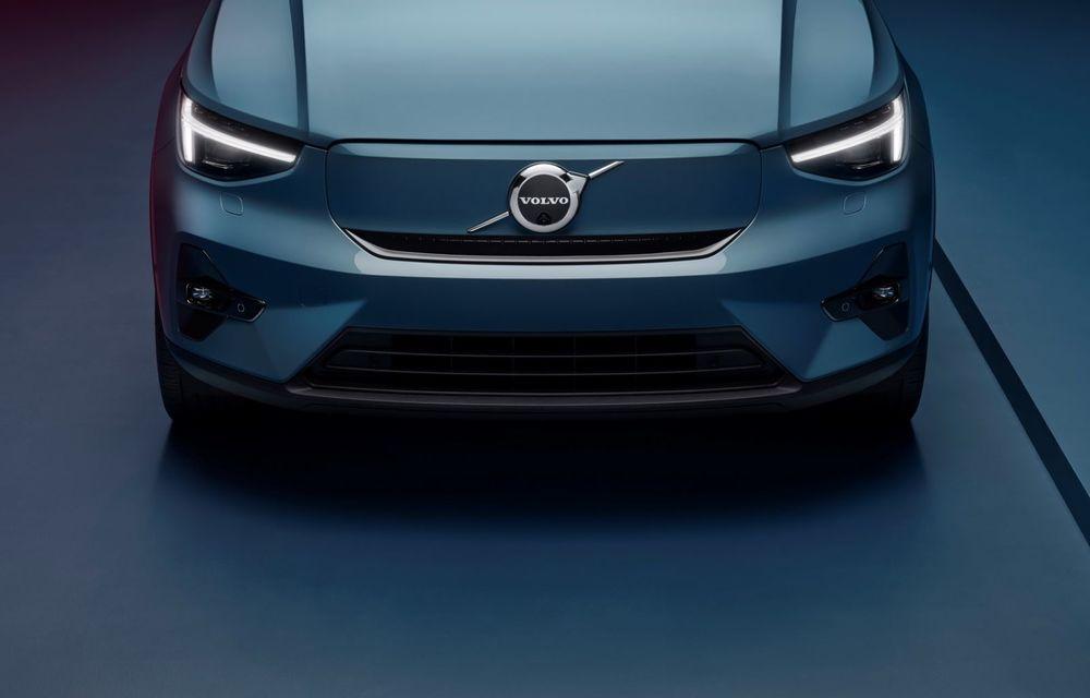 Noul Volvo C40 Recharge: SUV coupe 100% electric cu autonomie de 420 de kilometri - Poza 13