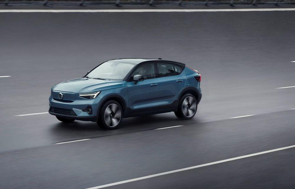 Noul Volvo C40 Recharge: SUV coupe 100% electric cu autonomie de 420 de kilometri - Poza 26
