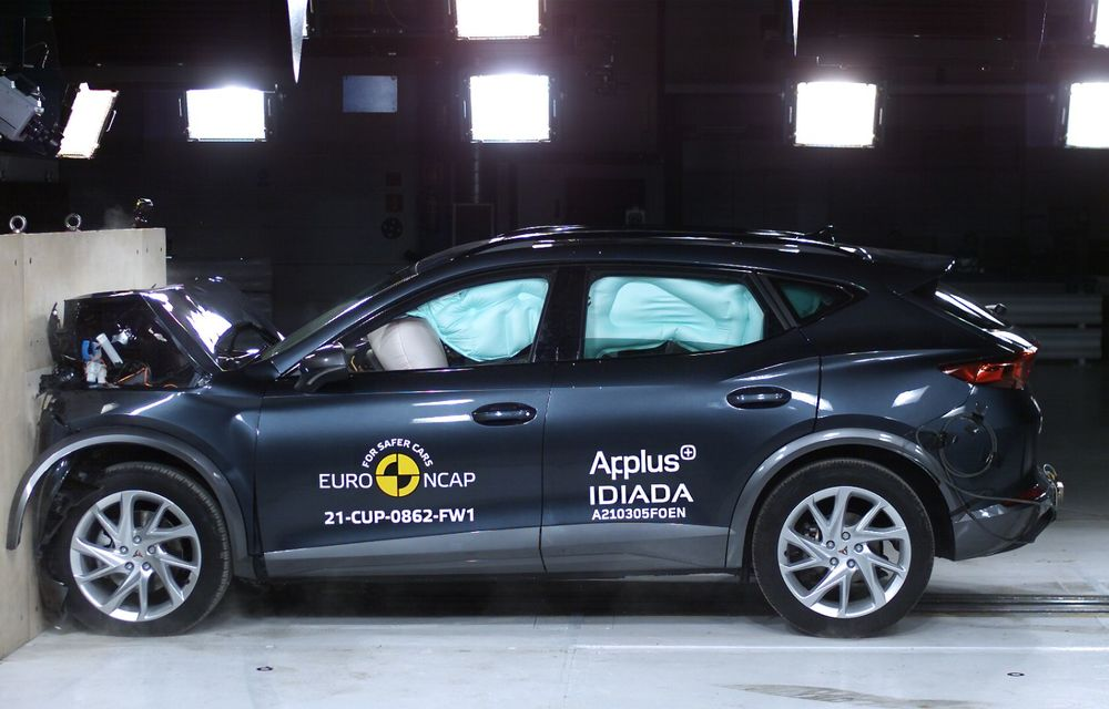 Primele rezultate EuroNCAP din 2021: noile Polestar 2 și Cupra Formentor primesc 5 stele - Poza 19