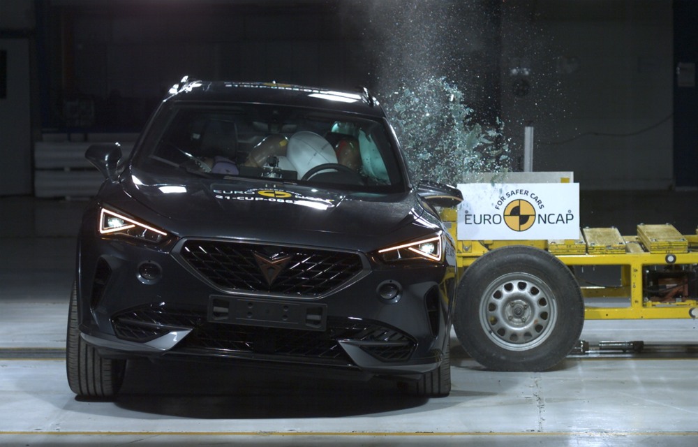 Primele rezultate EuroNCAP din 2021: noile Polestar 2 și Cupra Formentor primesc 5 stele - Poza 1