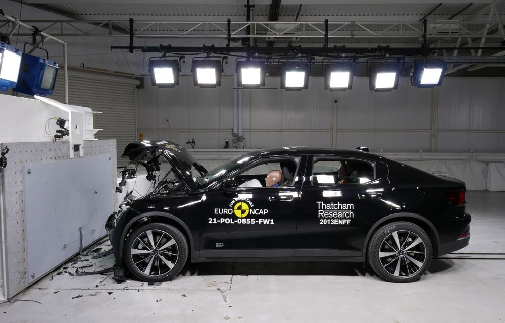 Primele rezultate EuroNCAP din 2021: noile Polestar 2 și Cupra Formentor primesc 5 stele - Poza 7