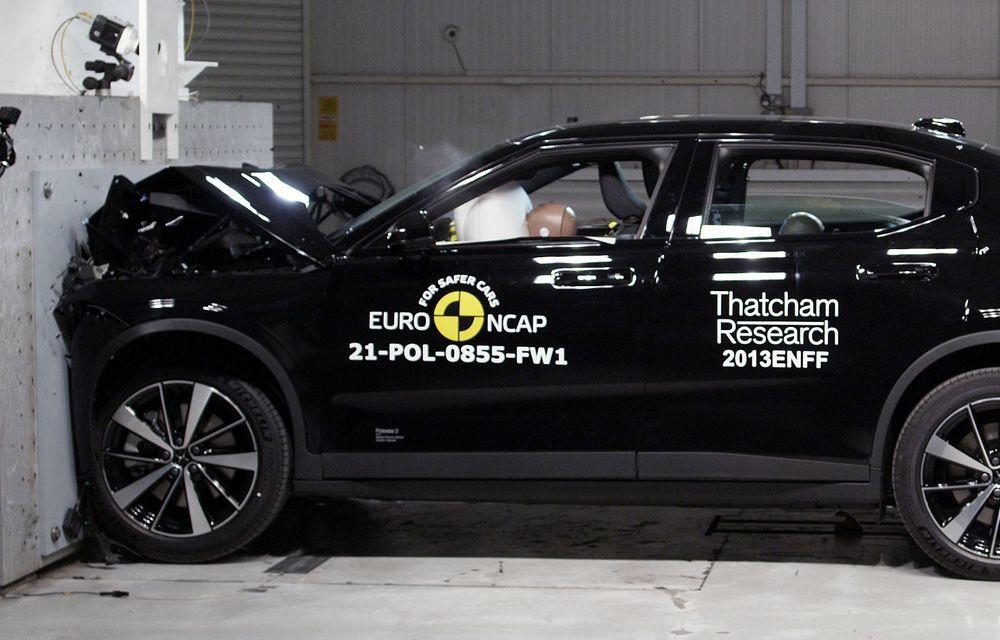 Primele rezultate EuroNCAP din 2021: noile Polestar 2 și Cupra Formentor primesc 5 stele - Poza 4