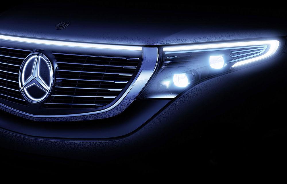 Mercedes pregătește lansarea sedanului electric EQE: noul model va fi dezvăluit în septembrie - Poza 1