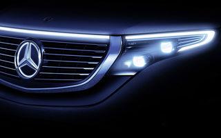Mercedes pregătește lansarea sedanului electric EQE: noul model va fi dezvăluit în septembrie