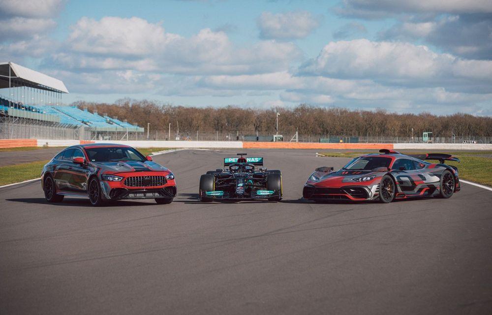 Mercedes-Benz a publicat primele imagini teaser cu noul AMG GT 73: motor V8 hibrid și 800 CP - Poza 4