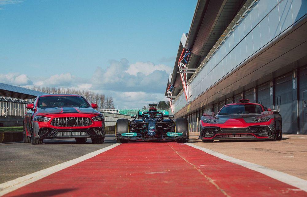 Mercedes-Benz a publicat primele imagini teaser cu noul AMG GT 73: motor V8 hibrid și 800 CP - Poza 2