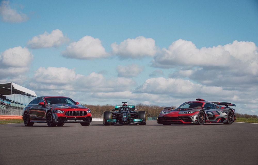 Mercedes-Benz a publicat primele imagini teaser cu noul AMG GT 73: motor V8 hibrid și 800 CP - Poza 5