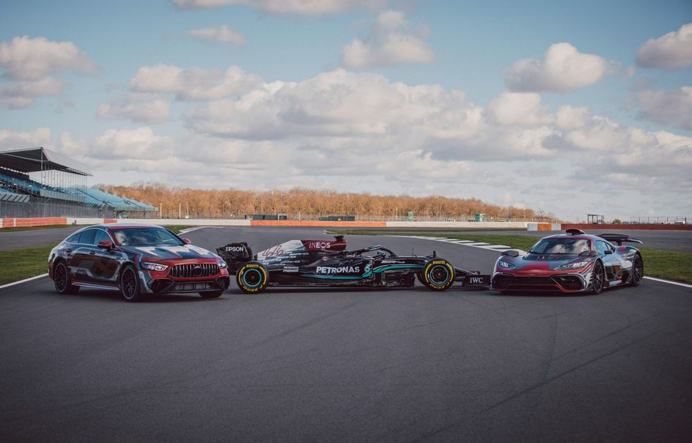 Mercedes-Benz a publicat primele imagini teaser cu noul AMG GT 73: motor V8 hibrid și 800 CP - Poza 3