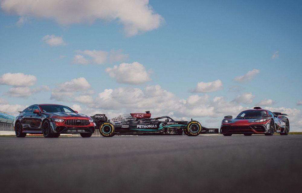 Mercedes-Benz a publicat primele imagini teaser cu noul AMG GT 73: motor V8 hibrid și 800 CP - Poza 1