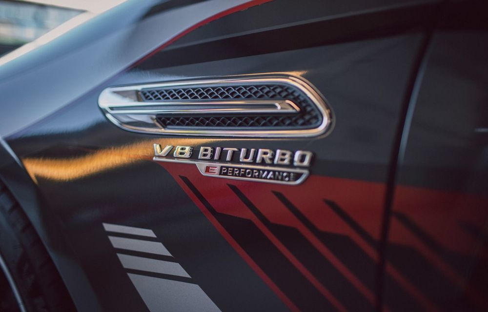 Mercedes-Benz a publicat primele imagini teaser cu noul AMG GT 73: motor V8 hibrid și 800 CP - Poza 6