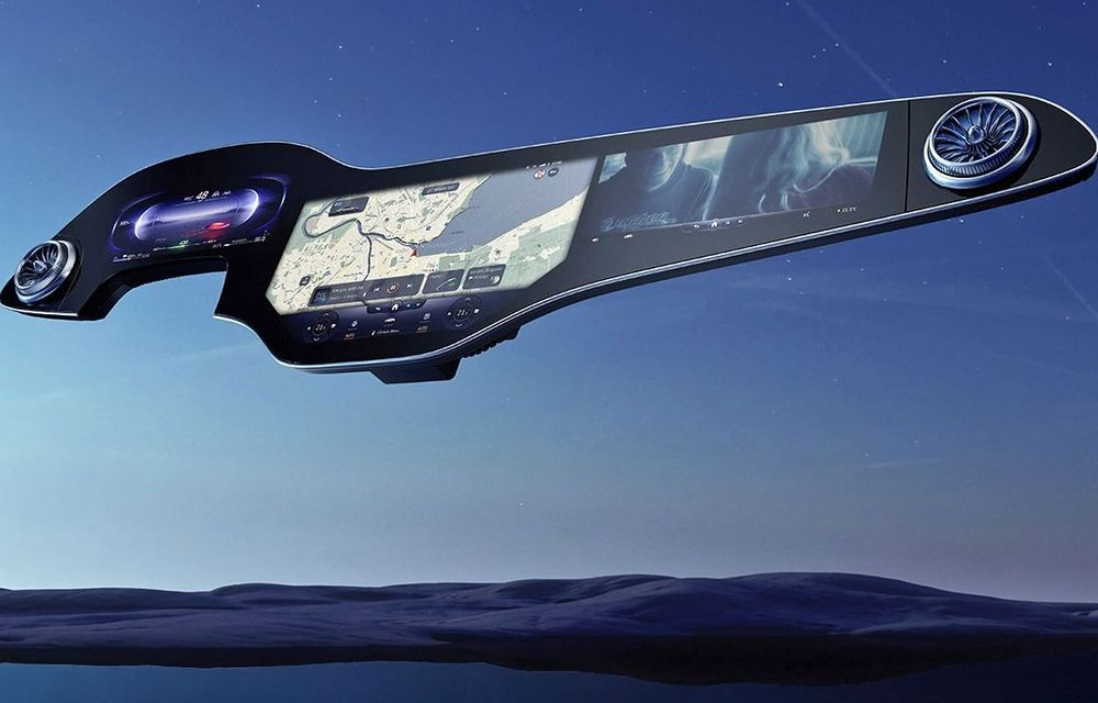 VIDEO: Mercedes-Benz detaliază sistemul multimedia MBUX Hyperscreen - Poza 1