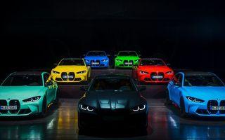 Noile BMW M3 și M4 pot fi comandate în culori aprinse cu ajutorul programului Individual