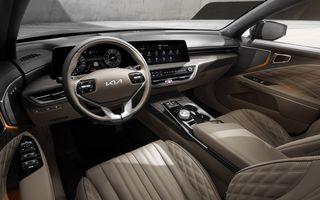 Primele imagini cu interiorul celui mai luxos Kia: modelul K8 este un sedan de care nu se vor bucura și europenii