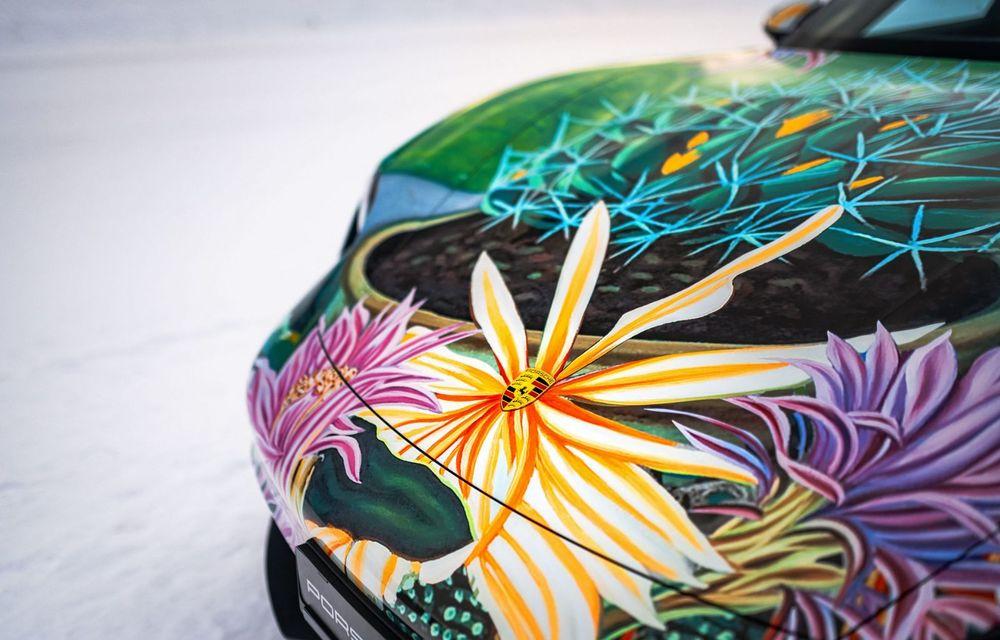 După BMW, și Porsche dă naștere unui Art Car: acest Taycan 4S unic va fi scos la licitație - Poza 12