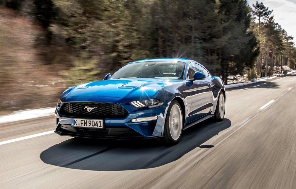 Ford Mustang, cu motor de 2.3 litri turbo, eliminat de pe piața europeană, inclusiv din România - Poza 1