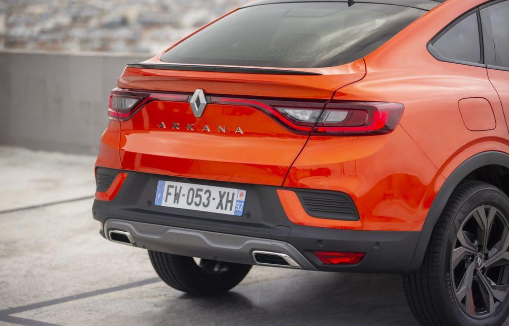 Renault Arkana poate fi comandat în Europa. Pornește de la 30.000 de euro în Franța - Poza 21