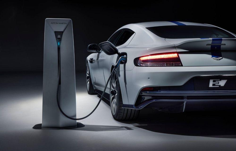 Aston Martin pregătește două mașini electrice: producția va începe în 2025 - Poza 1