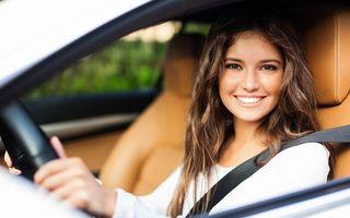 STUDIU: Cât sunt de încrezătoare femeile atunci când sunt la volan