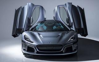 Porsche investește 70 de milioane de euro în Rimac: nemții dețin acum 24% din acțiuni