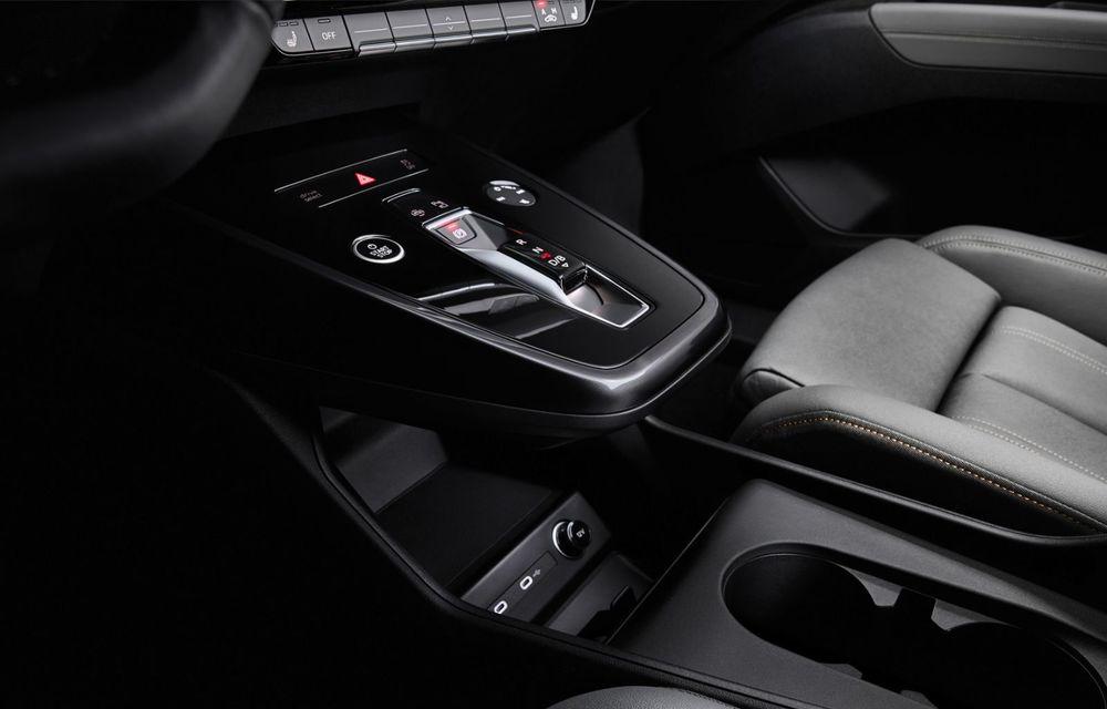 Audi Q4 e-tron: primele imagini și informații din interiorul SUV-ului electric - Poza 16
