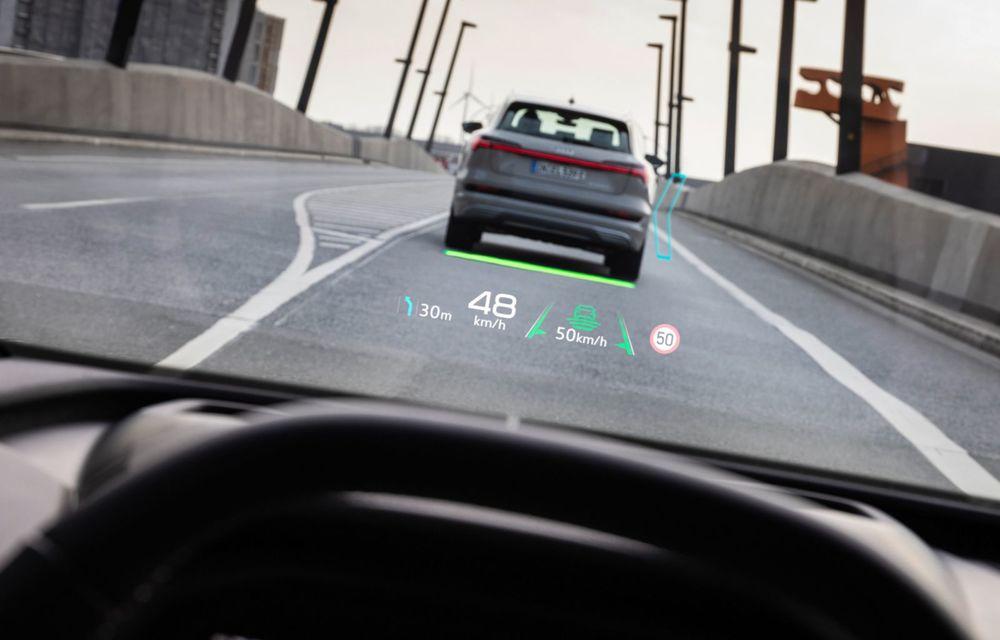 Audi Q4 e-tron: primele imagini și informații din interiorul SUV-ului electric - Poza 11