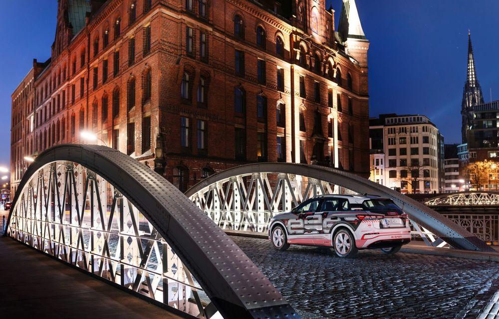 Audi Q4 e-tron: primele imagini și informații din interiorul SUV-ului electric - Poza 43