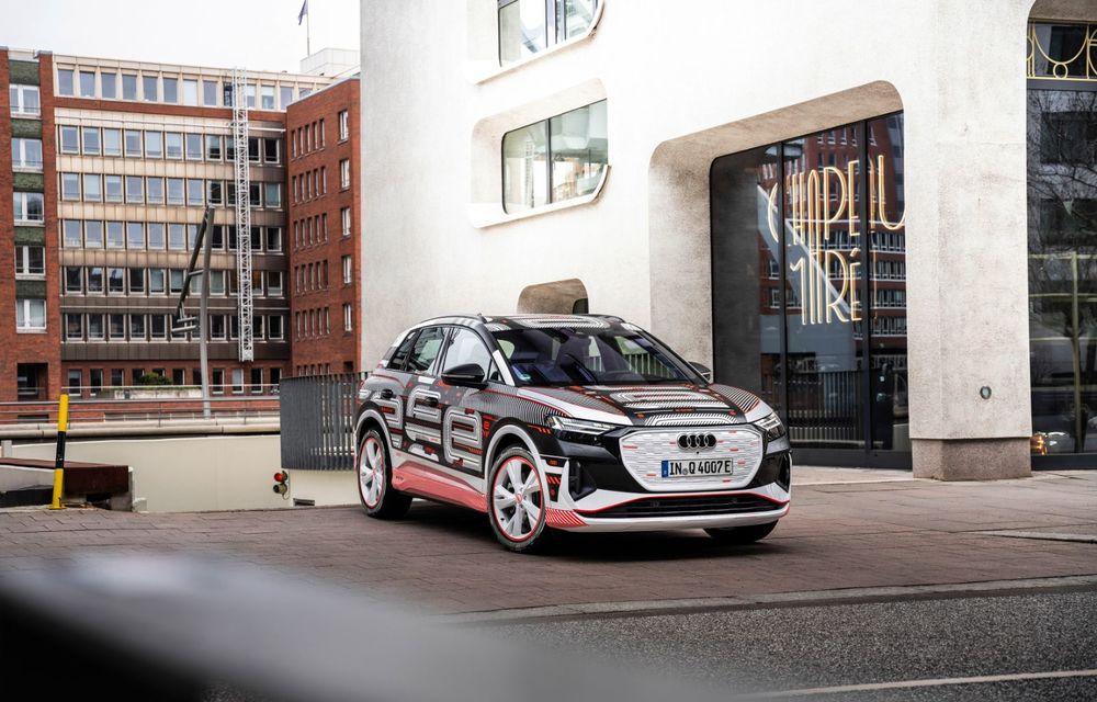 Audi Q4 e-tron: primele imagini și informații din interiorul SUV-ului electric - Poza 25