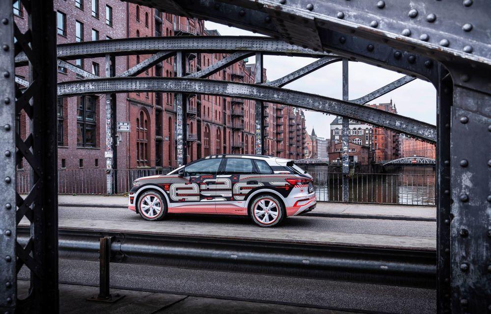 Audi Q4 e-tron: primele imagini și informații din interiorul SUV-ului electric - Poza 28