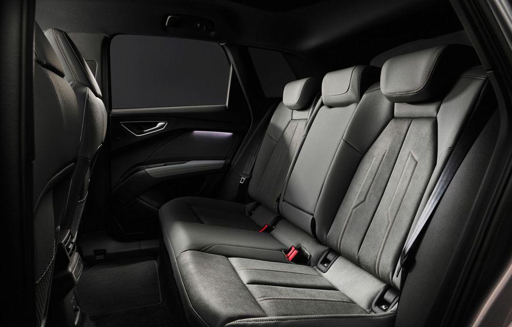Audi Q4 e-tron: primele imagini și informații din interiorul SUV-ului electric - Poza 8