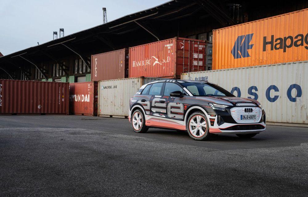 Audi Q4 e-tron: primele imagini și informații din interiorul SUV-ului electric - Poza 30