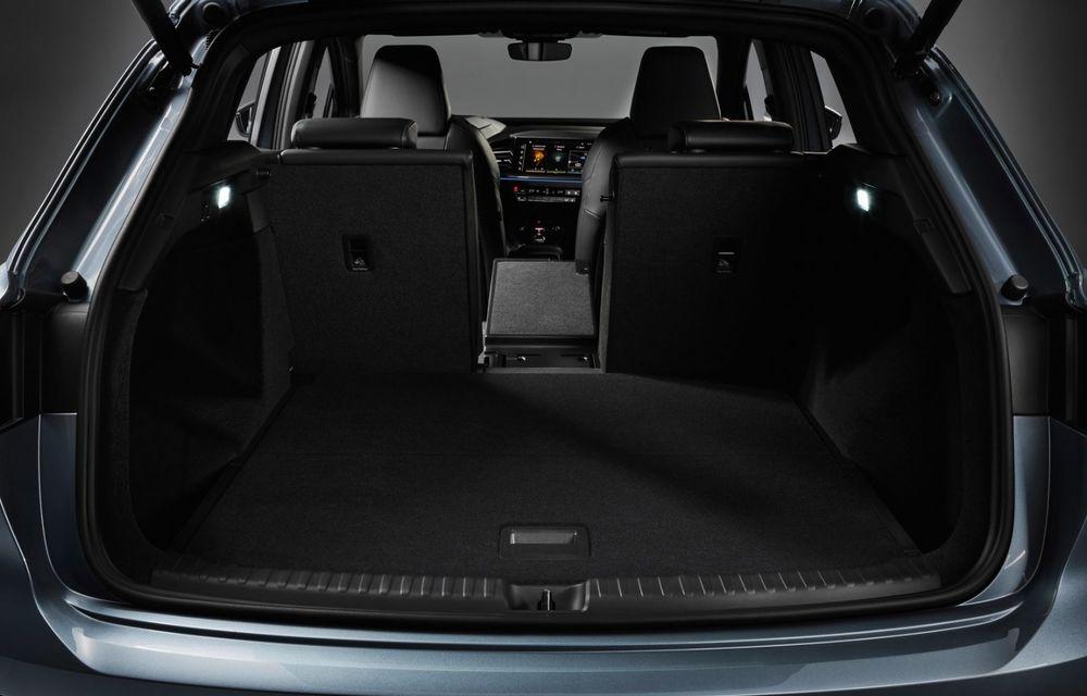 Audi Q4 e-tron: primele imagini și informații din interiorul SUV-ului electric - Poza 20