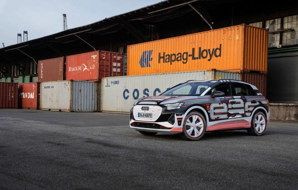 Audi Q4 e-tron: primele imagini și informații din interiorul SUV-ului electric - Poza 29
