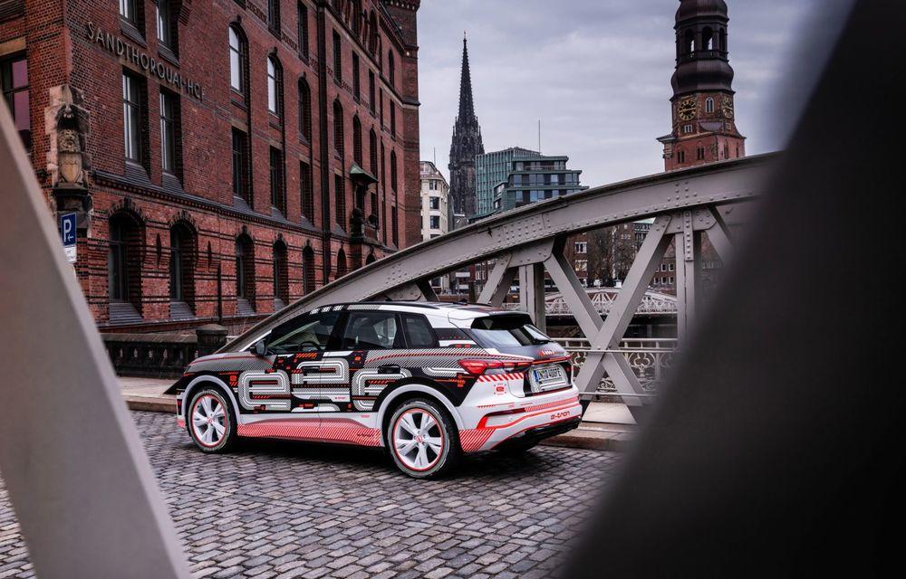 Audi Q4 e-tron: primele imagini și informații din interiorul SUV-ului electric - Poza 22