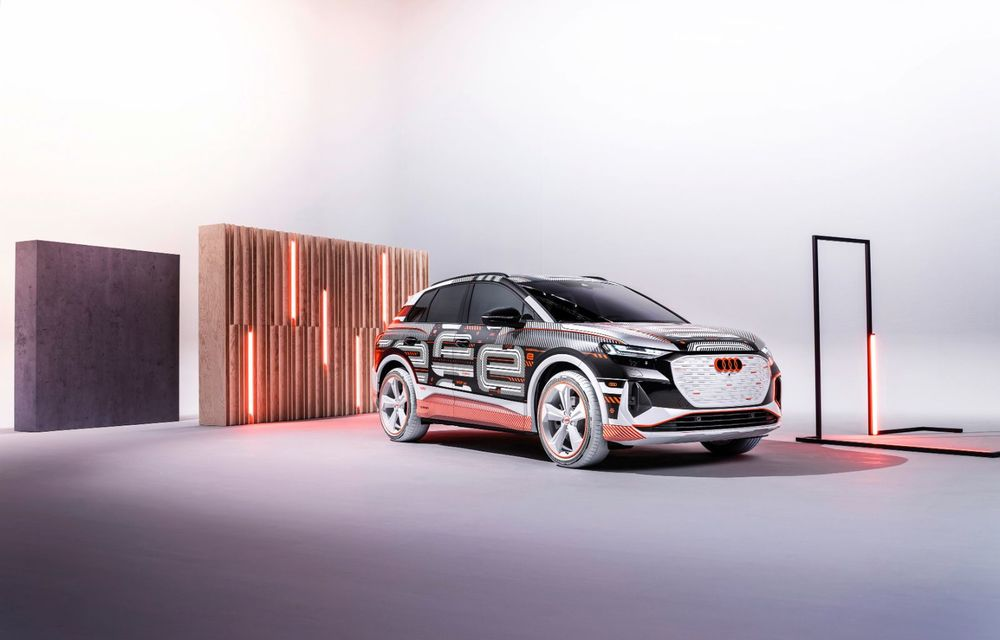 Audi Q4 e-tron: primele imagini și informații din interiorul SUV-ului electric - Poza 37
