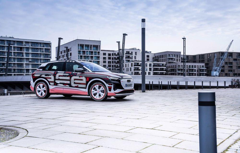 Audi Q4 e-tron: primele imagini și informații din interiorul SUV-ului electric - Poza 49