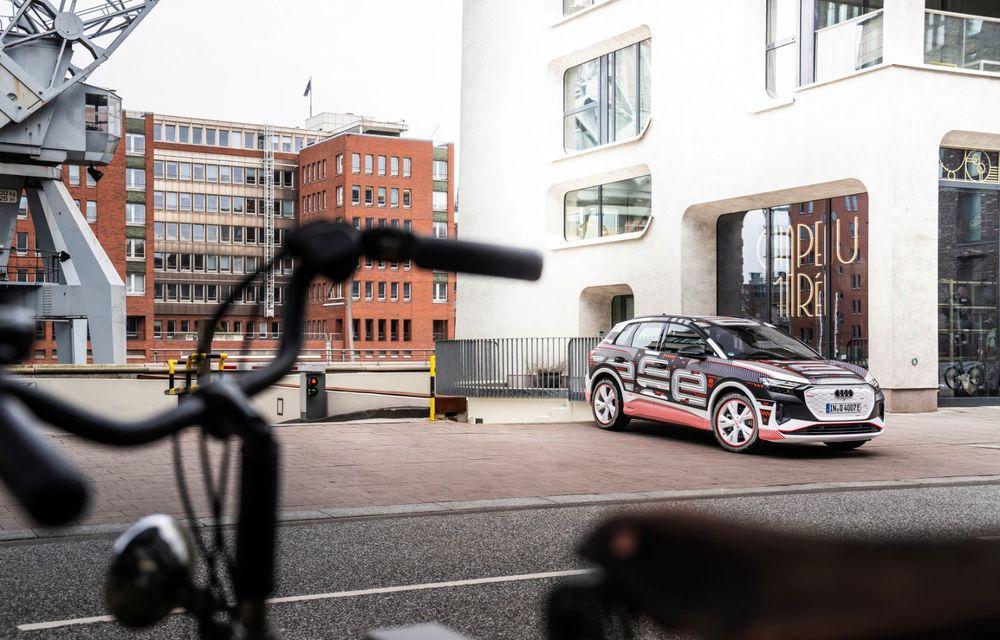 Audi Q4 e-tron: primele imagini și informații din interiorul SUV-ului electric - Poza 26
