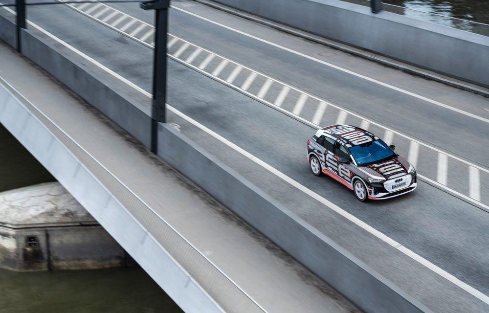 Audi Q4 e-tron: primele imagini și informații din interiorul SUV-ului electric - Poza 39