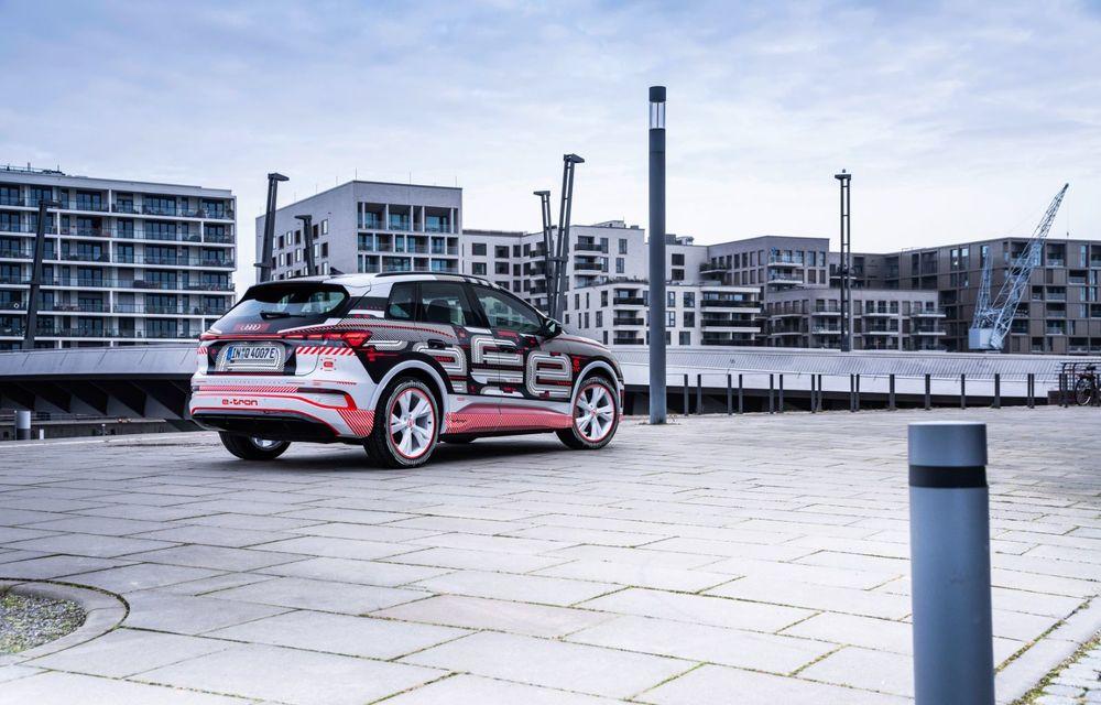 Audi Q4 e-tron: primele imagini și informații din interiorul SUV-ului electric - Poza 21