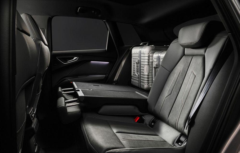 Audi Q4 e-tron: primele imagini și informații din interiorul SUV-ului electric - Poza 4