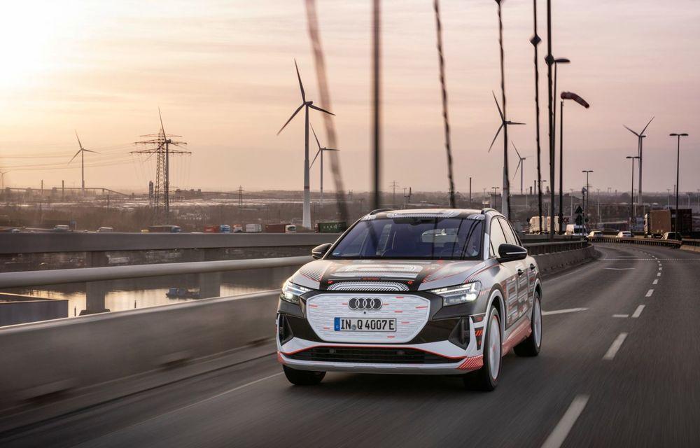 Audi Q4 e-tron: primele imagini și informații din interiorul SUV-ului electric - Poza 31