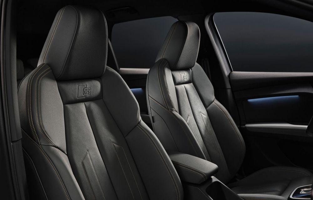 Audi Q4 e-tron: primele imagini și informații din interiorul SUV-ului electric - Poza 7