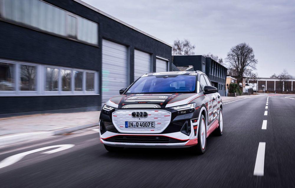 Audi Q4 e-tron: primele imagini și informații din interiorul SUV-ului electric - Poza 40