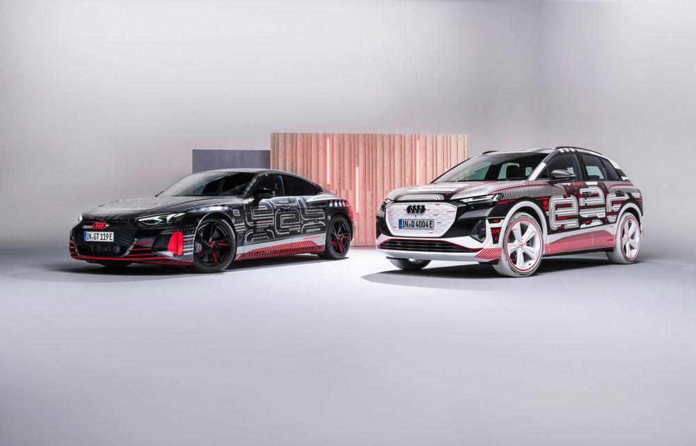 Audi Q4 e-tron: primele imagini și informații din interiorul SUV-ului electric - Poza 45