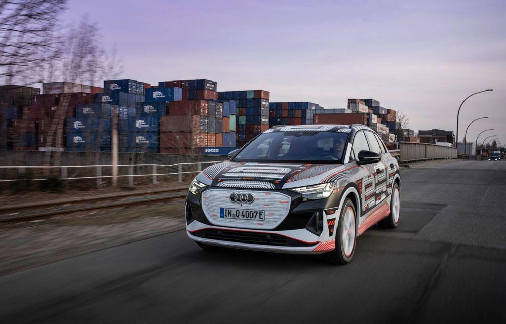 Audi Q4 e-tron: primele imagini și informații din interiorul SUV-ului electric - Poza 34