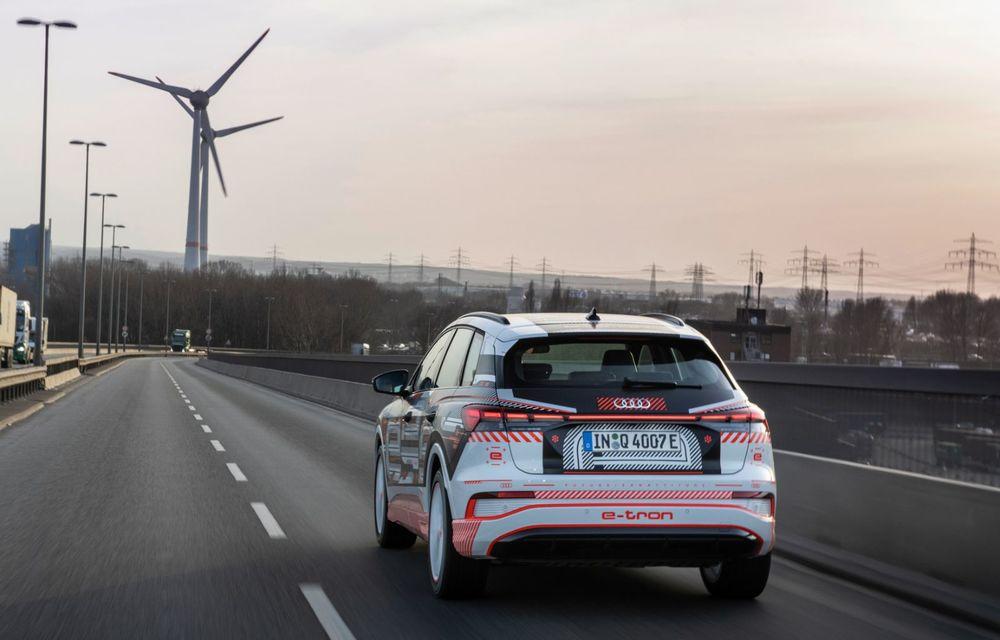 Audi Q4 e-tron: primele imagini și informații din interiorul SUV-ului electric - Poza 48