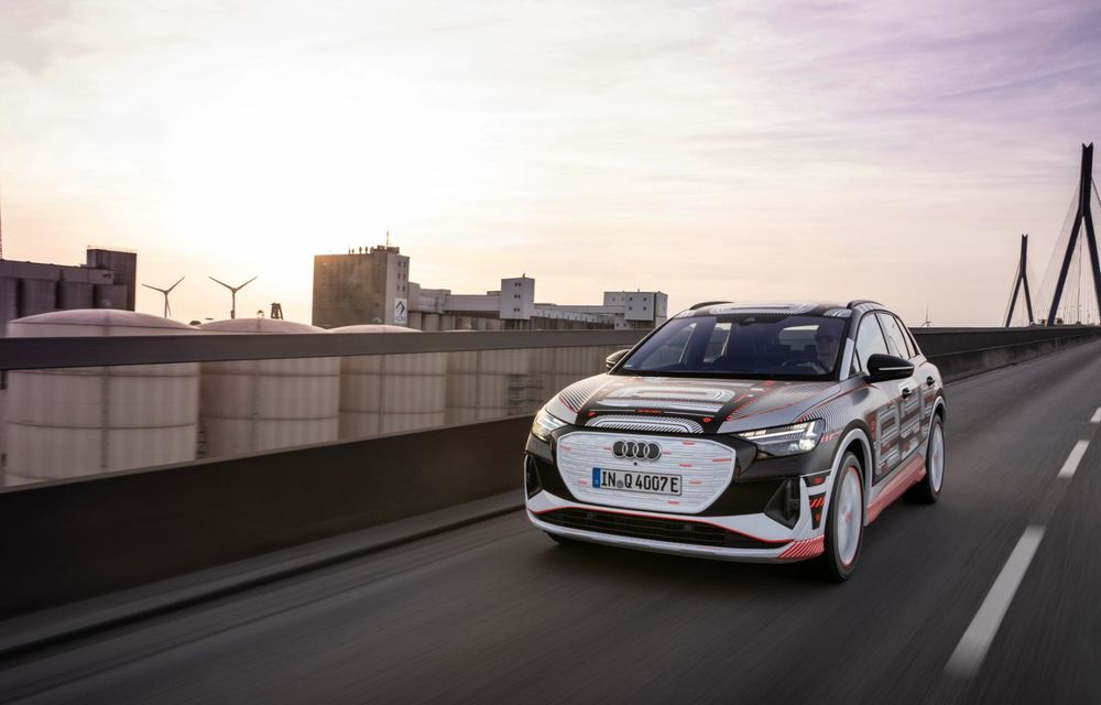 Audi Q4 e-tron: primele imagini și informații din interiorul SUV-ului electric - Poza 33