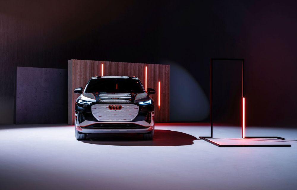 Audi Q4 e-tron: primele imagini și informații din interiorul SUV-ului electric - Poza 36