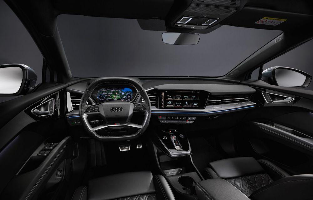 Audi Q4 e-tron: primele imagini și informații din interiorul SUV-ului electric - Poza 2