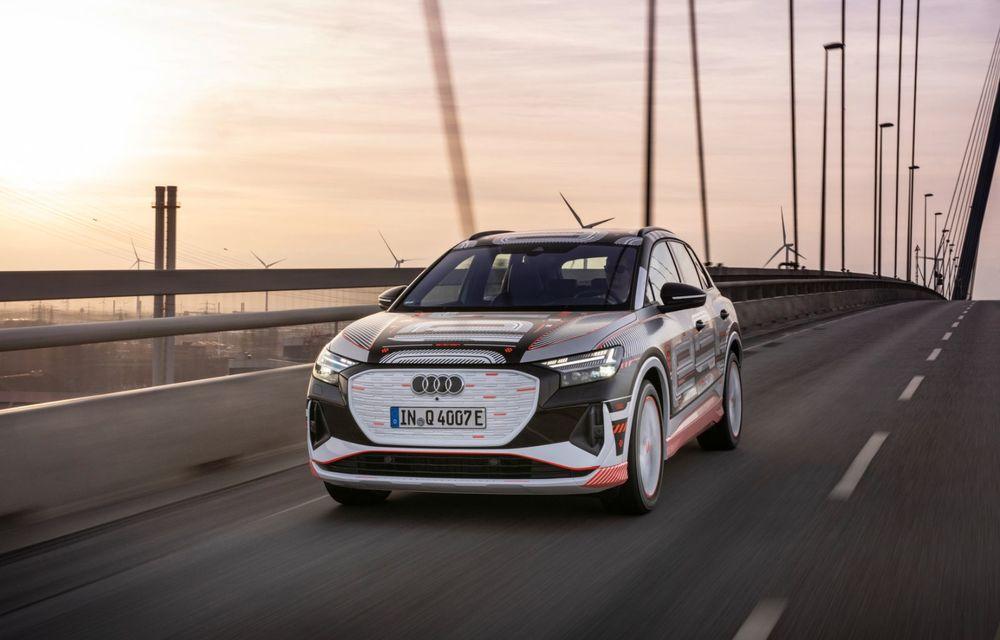 Audi Q4 e-tron: primele imagini și informații din interiorul SUV-ului electric - Poza 32
