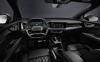Audi Q4 e-tron: primele imagini și informații din interiorul SUV-ului electric